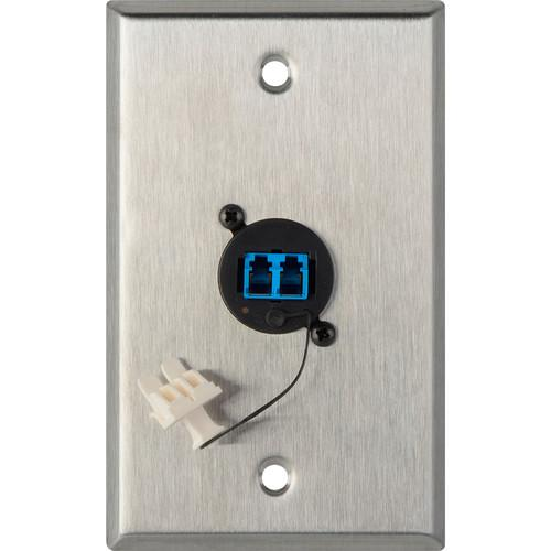 Camplex WPL-1216 1-Gang Stainless Steel Wall Plate WPL-1216