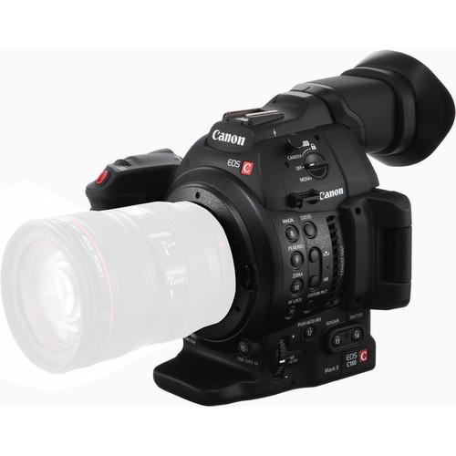 Canon C100 Mark II Cinema EOS Camera with Dual Pixel CMOS AF