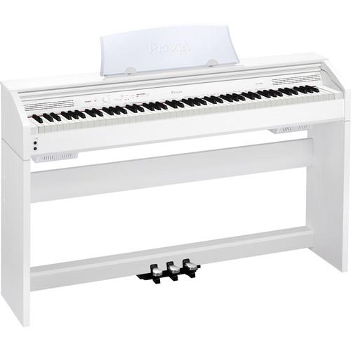 Casio PX-760 Privia 88-Key Digital Piano (White) PX-760WE