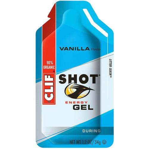 Clif Bar Clif Shot Energy Gel (Vanilla, 24-Pack) 110424