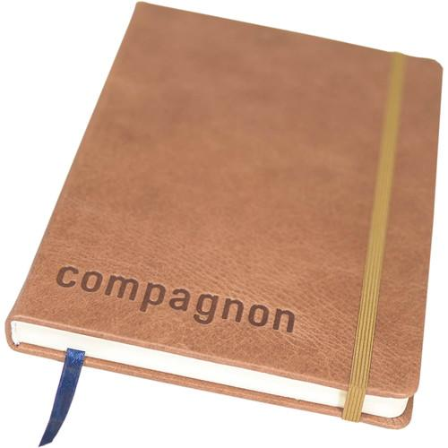 compagnon Leather Bound Notebook (Light Brown) 501