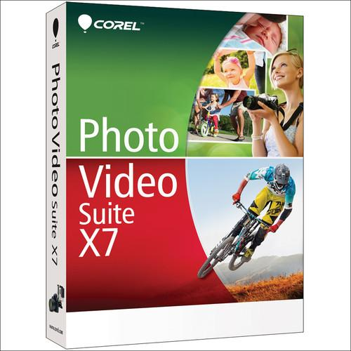 Corel  Photo Video Suite X7 (Download) ESDPVSX7ML