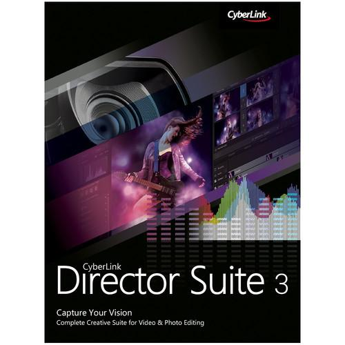 CyberLink Director Suite 3 Software Bundle DRS-0300-IWT0-00