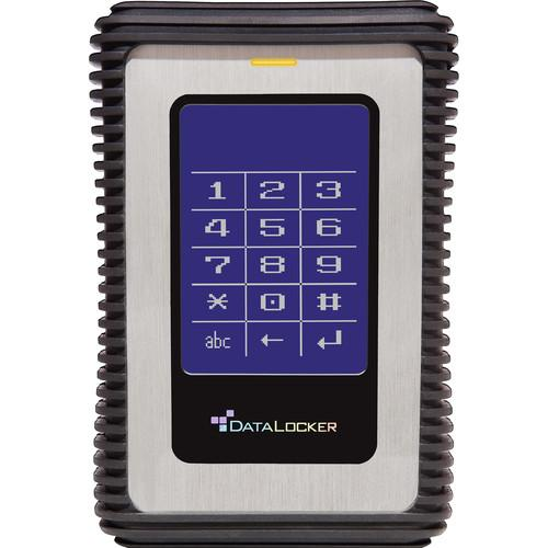 Data Locker 2TB DL3 Encrypted External USB 3.0 Hard DL2000V3