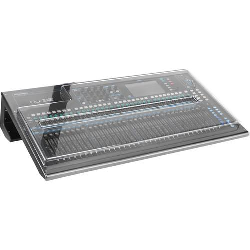 Decksaver Cover for Allen & Heath QU-32 Mixer DSP-PC-QU32