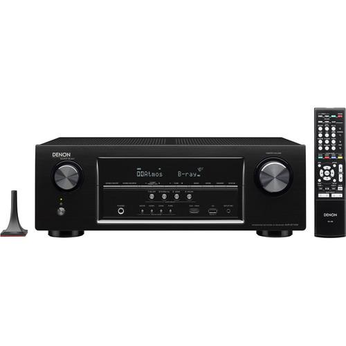 Denon AVR-S710W 7.2-Channel Network AV Receiver (Black)