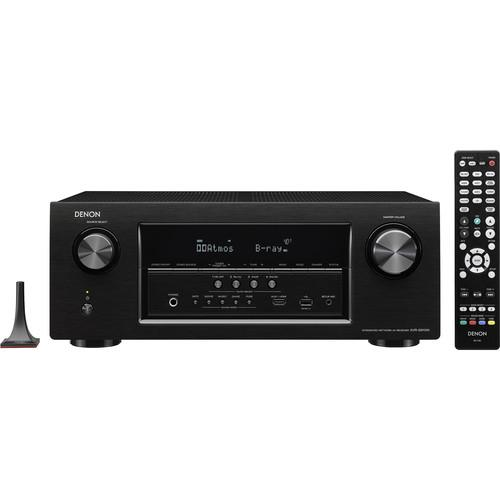 Denon AVR-S910W 7.2-Channel Network AV Receiver (Black)