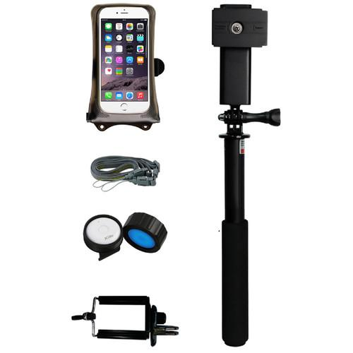 DiCAPac DRS-C1 Floating Monopod Bundle with Bluetooth 4.0 DRS-C1