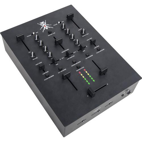 DJ-Tech TRX Thud Rumble 2-Channel Scratch Mixer (Black) TRXBK