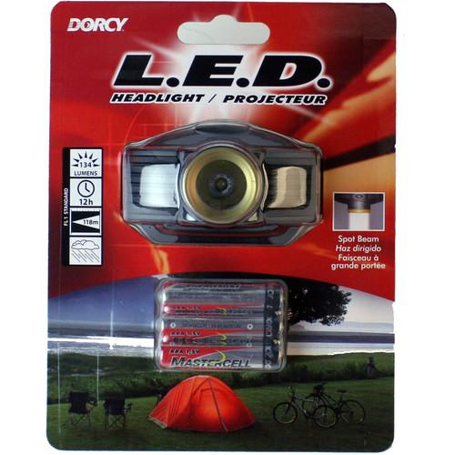 Dorcy 41-2097 134-Lumen Spot Beam Headlight 41-2097