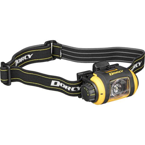 Dorcy 41-2612 Pro Series LED Headlight (Black / Yellow) 41-2612
