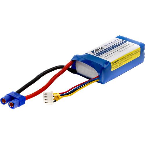 E-flite 1300mAh 3S 11.1V LiPo Battery with EC3 EFLB13003S20