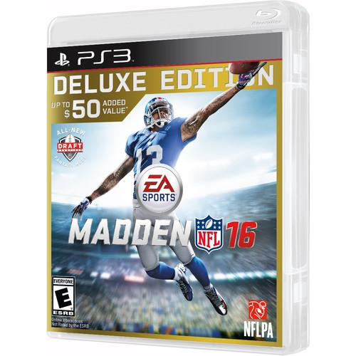 Electronic Arts Madden NFL 16 Deluxe Edition (PS3) 36971