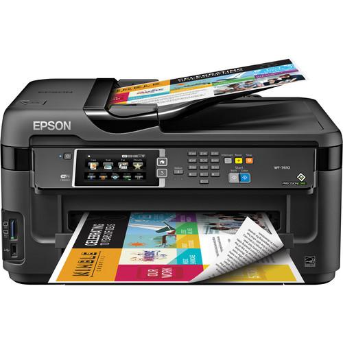 Epson WorkForce WF-7610 Wireless Color All-in-One C11CC98201