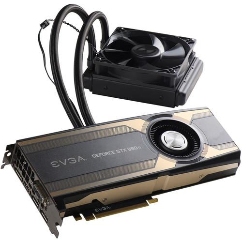 EVGA GeForce GTX 980 Ti HYBRID Graphics Card 06G-P4-1996-KR