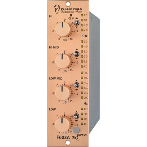 Fredenstein F603A High-Q Four Band Equalizer F603A