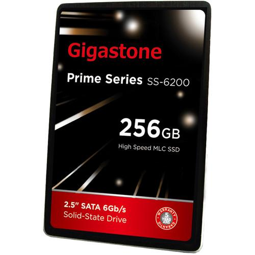 Gigastone 256GB Prime Series SSD GS-SSD-6200-256GB-R