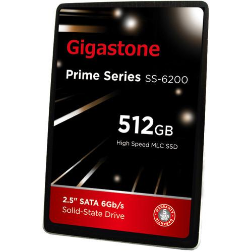 Gigastone 512GB Prime Series SSD GS-SSD-6200-512GB-R