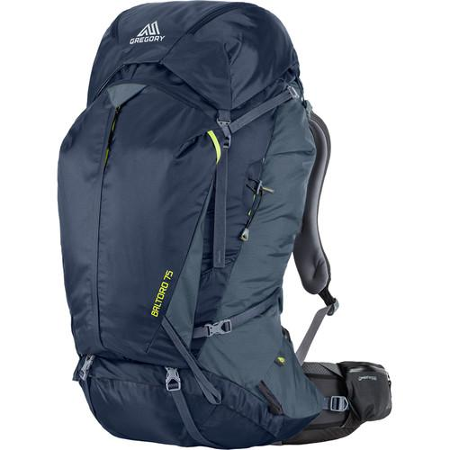 Gregory Men's Baltoro 75 Small Backpack (75 L, Navy Blue)