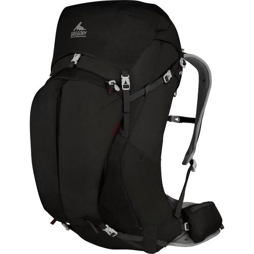 Gregory Mens Z 55 Medium Backpack (55 L, Storm Black) GM74562