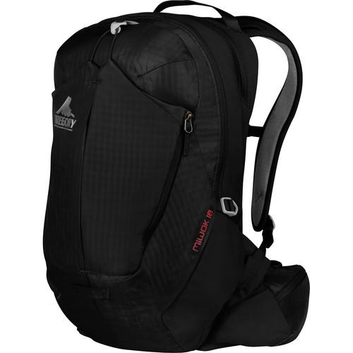 Gregory Miwok 24 Compact Backpack (24 L, Storm Black) GM74518