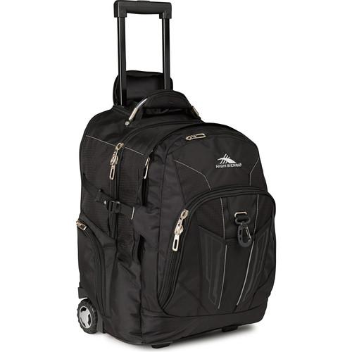 High Sierra XBT Wheeled Backpack (Black) 58002-1041