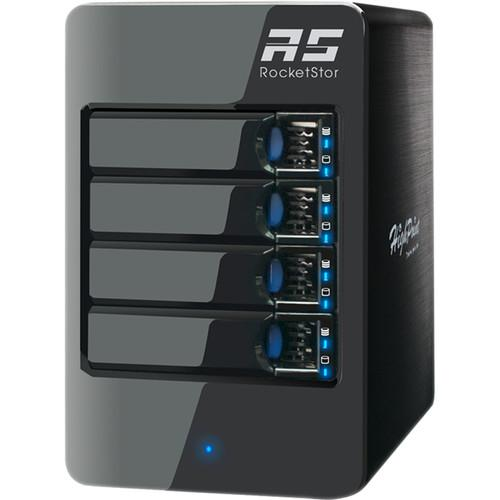HighPoint RocketStor 6314A Four-Bay Thunderbolt ROCKETSTOR 6314A