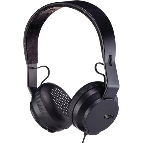 House of Marley Roar On-Ear Headphones (Black) EM-JH081-BK