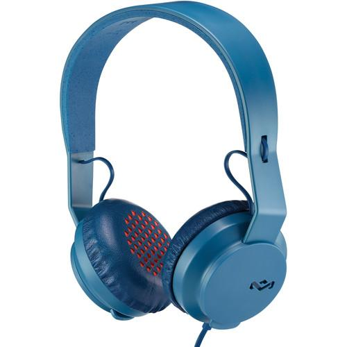 House of Marley Roar On-Ear Headphones (Navy) EM-JH081-NV