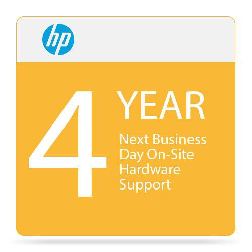 HP 4-Year Next Business Day On-Site Hardware Support UF633E