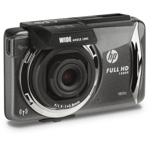 HP Full HD 1080p Car Dashboard Camcorder with GPS and HP-F800X