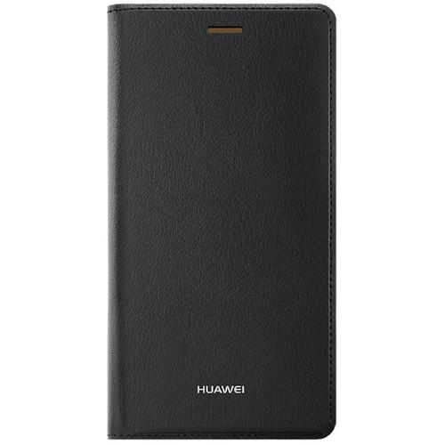Huawei Leather Flip Case for P8 Lite (Black)