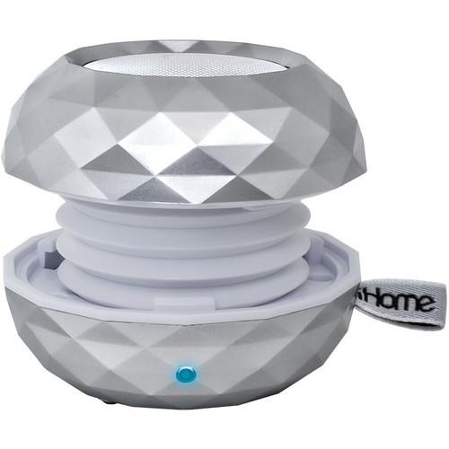 iHome iBT66 GlowTunes Color-Changing Bluetooth IBT66S