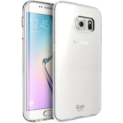 iLuv Vyneer Case for Galaxy S6 edge (Clear) SS6EVYNECL