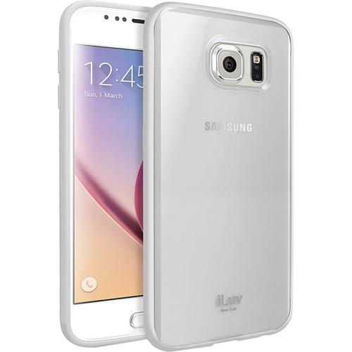 iLuv  Vyneer Case for Galaxy S6 (White) SS6VYNEWH