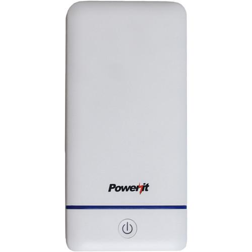 Impecca PowerIt 10,200mAh Portable Charger (White) PEB10200W