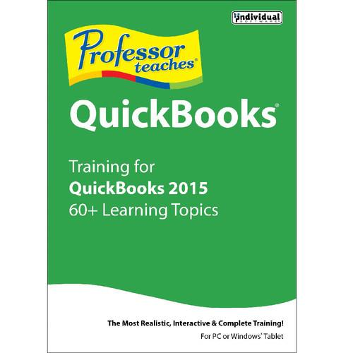 Individual Software Professor Teaches QuickBooks 2015 PRF-Q15