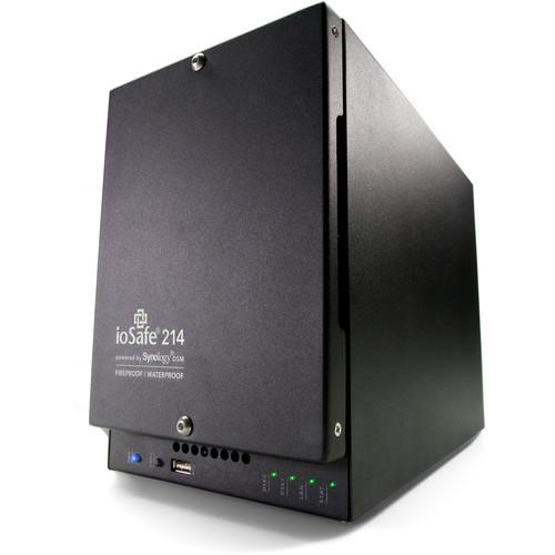 IoSafe 214 4TB 2-Bay NAS Server with 5 Year DRS 214-4TB5YR