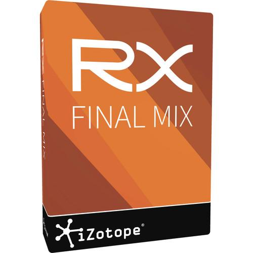 iZotope RX Final Mix - Post Production Processing RX FINAL MIX