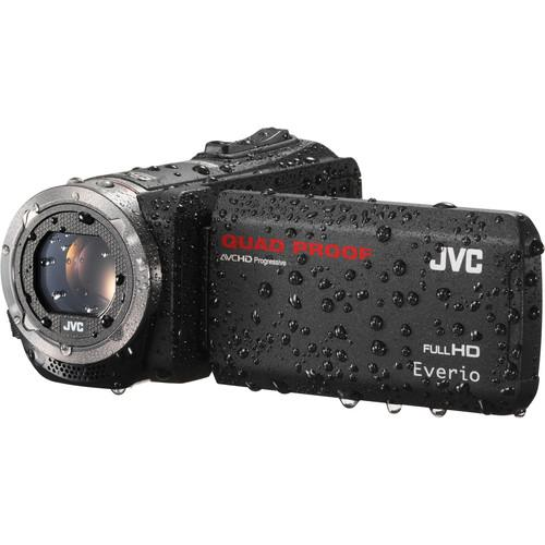 JVC GZ-R320BUS Quad-Proof HD Camcorder (Black) GZR320BUS