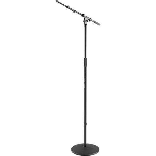 K&M 26145 Microphone Stand with Boom (Black) 26145-500-55