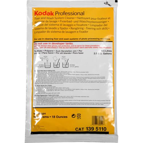 Kodak  Fixer/Wash System Cleaner 5160312Q