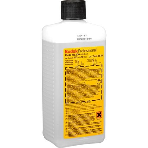 Kodak Photo-Flo 200 Solution (16 oz, 01/15 Expiration) 1464510Q