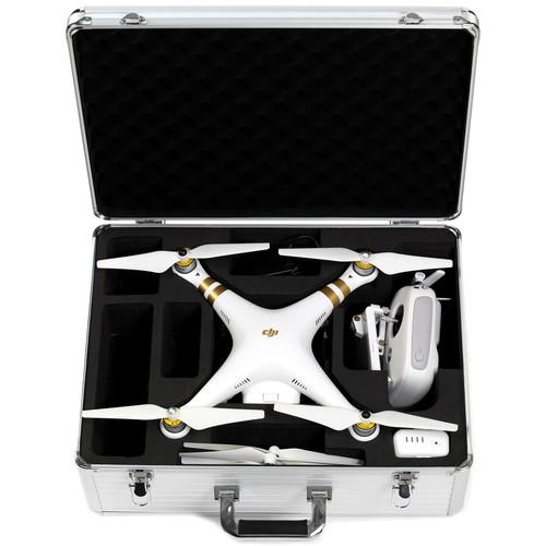 Koozam Aluminum Hard Case for DJI Phantom / Phantom 2 DJIHC-SLVR