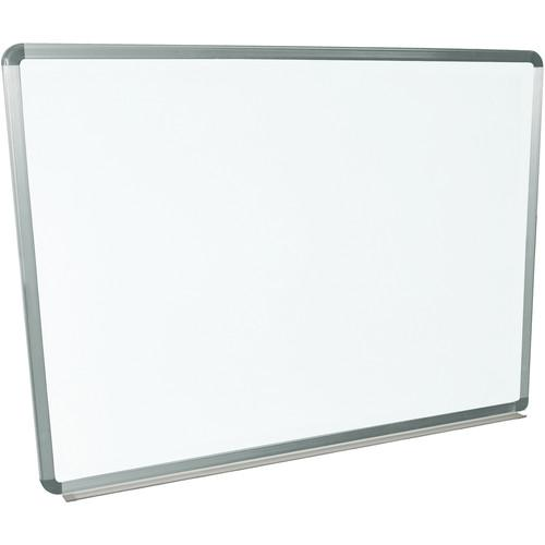 Luxor Wall-Mountable Magnetic Porcelain Whiteboard WB4836P