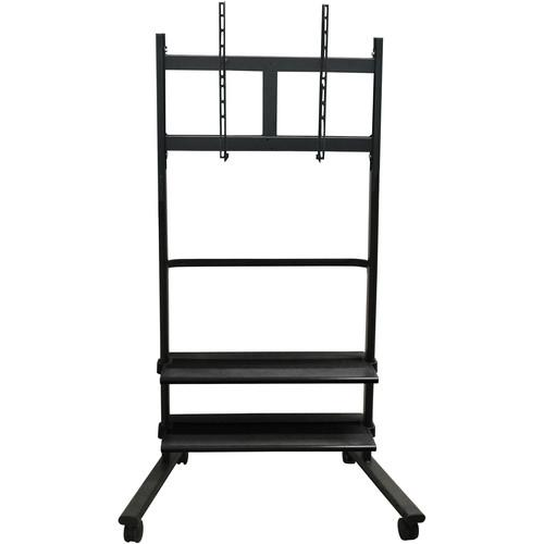 Luxor WFP200-B LCD TV Stand with Two Shelves WFP200-B