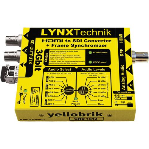 Lynx Technik AG yellowbrik HDMI to SDI Converter C HD 1812
