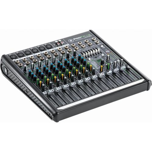Mackie ProFX12v2 12-Channel Mixer with Dust Cover & Carry