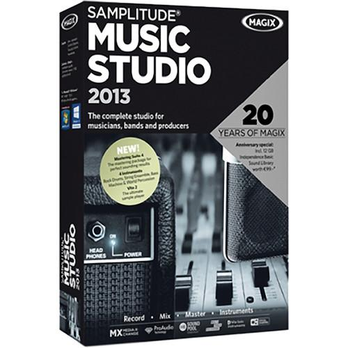 MAGIX Entertainment Samplitude Music Studio 2013 RESMID014041