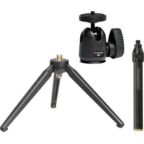 Manfrotto 209,492LONG Tabletop Tripod with Ball Head 209,492LONG